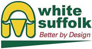 White Suffolk logo